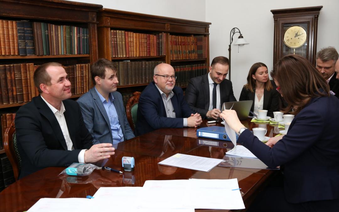 Archiwum Narodowe w Krakowie – podpisanie umowy na GW