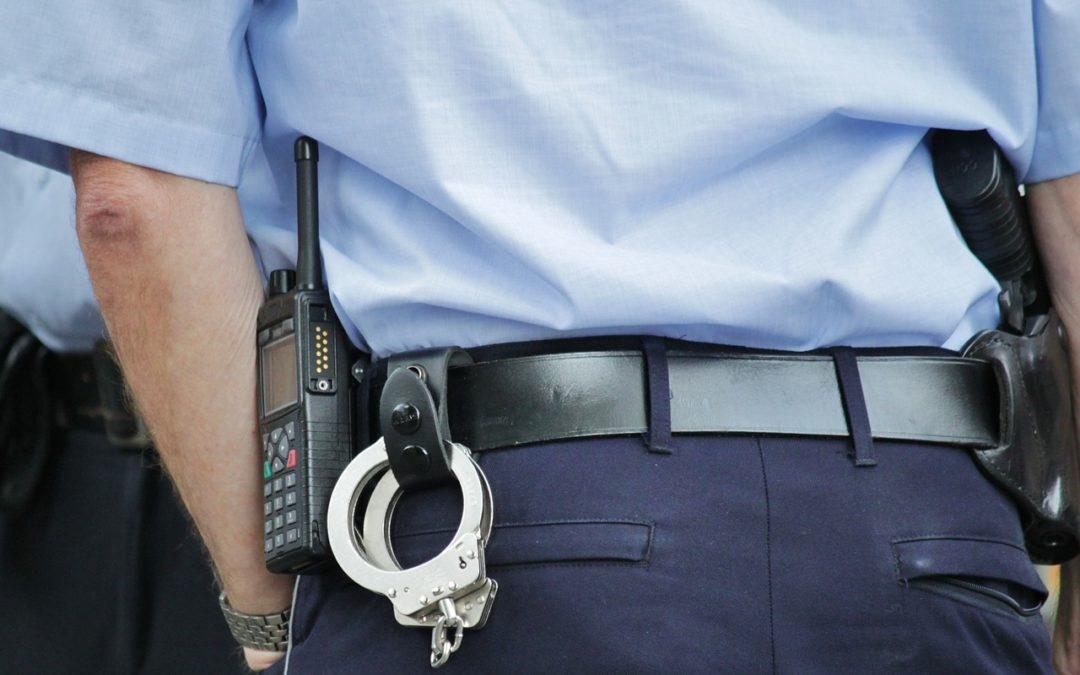 W obronie policjanta