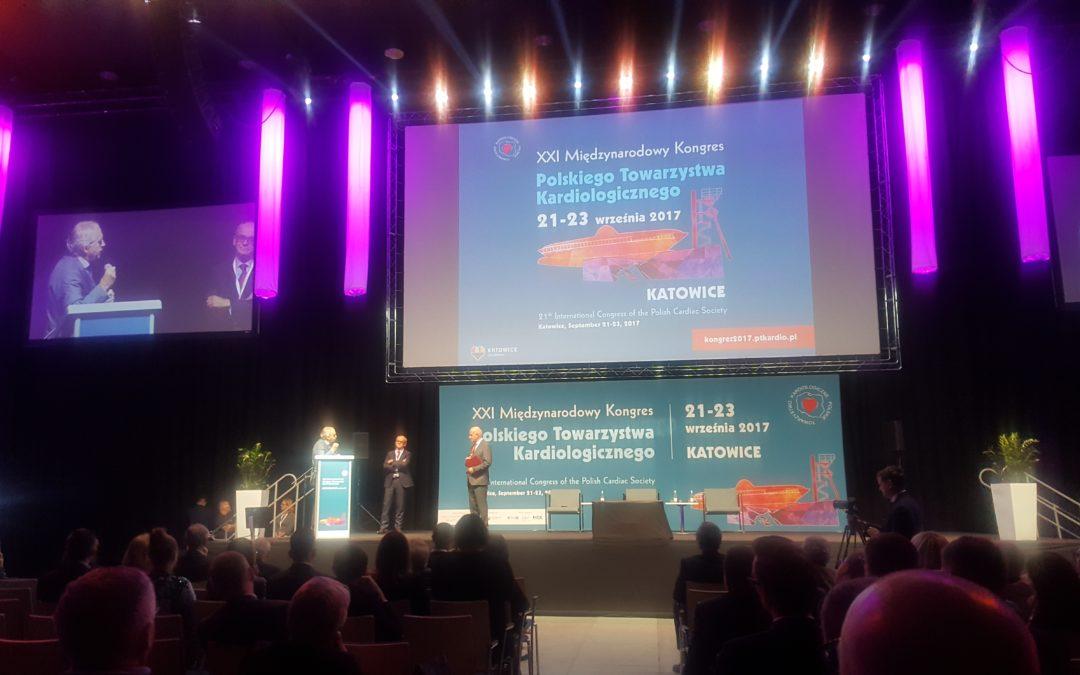 XXI Międzynarodowy Kongres Polskiego Towarzystwa Kardiologicznego w Katowicach 21-23 wrzesień 2017 r.