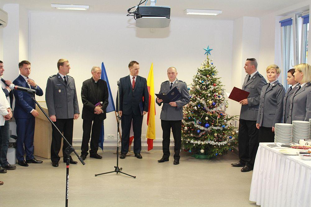 Wigilijne spotkanie opłatkowe w KRP Warszawa II – 7 grudnia 2017 r.