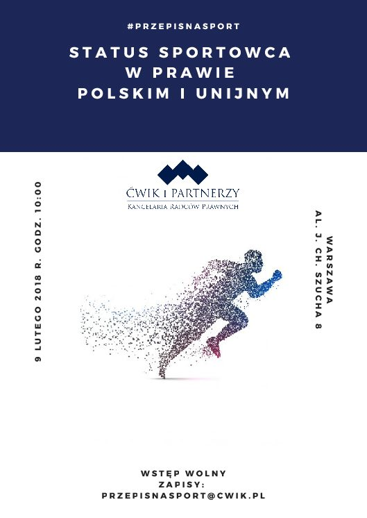 Przepis na sport! Pierwsze spotkanie – 9 luty 2018 r.