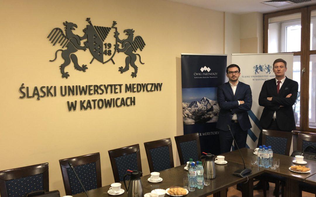 Praktyczne warsztaty dla praktycznego stosowania przepisów ustawy Prawo zamówień publicznych w Śląskim Uniwersytecie Medycznym w Katowicach