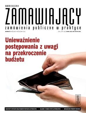 KOLEJNY DWUMIESIĘCZNIK ZAMAWIAJĄCY – JUŻ DOSTĘPNY! NR 37 (WRZESIEŃ – PAŹDZIERNIK 2019 R.)